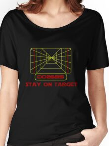 Stay on Target- Version 2 Women's Relaxed Fit T-Shirt
