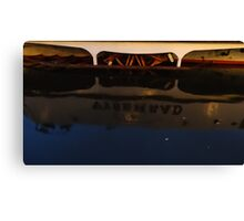 Reflection in Prague Canvas Print
