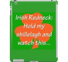 Irish Redneck iPad Case/Skin