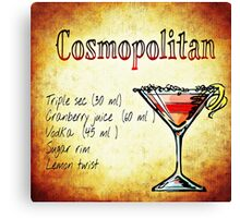 Cosmopolitan Canvas Print