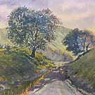 Evening Stroll in Millington Dale by Glenn  Marshall
