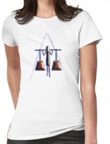 BURDEN OF HISTORY Womens Fitted T-Shirt