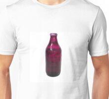 Isolated Mauve Beer Bottle Unisex T-Shirt