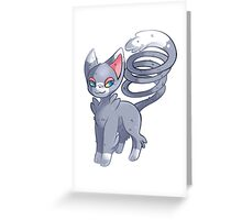 Glameow - Pokemon Greeting Card