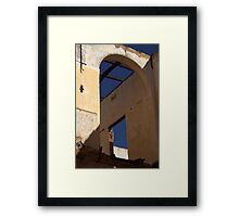 Art Deco Decline Framed Print