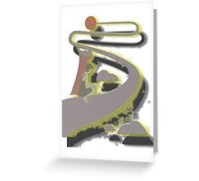 LONG ROAD TO THE SUN Greeting Card