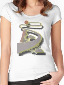 LONG ROAD TO THE SUN Women's Fitted Scoop T-Shirt