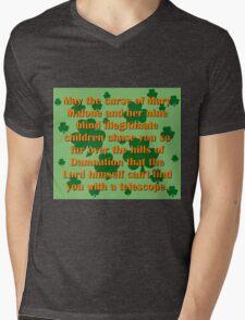 May the Curse Of Mary Malone Mens V-Neck T-Shirt