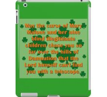 May the Curse Of Mary Malone iPad Case/Skin