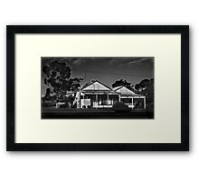Post Office Framed Print