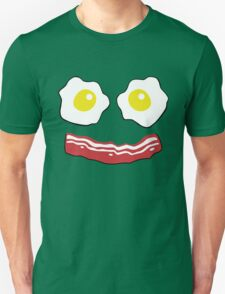 Bacon and Eggs Smiley face T-Shirt