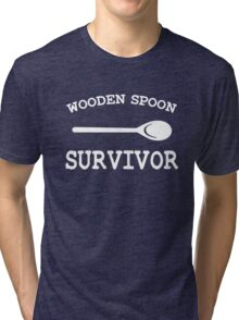 Wooden Spoon Survivor Tri-blend T-Shirt