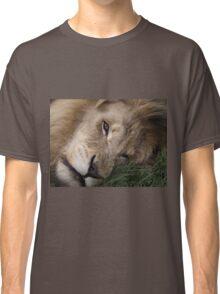 Smiling? Lion Classic T-Shirt