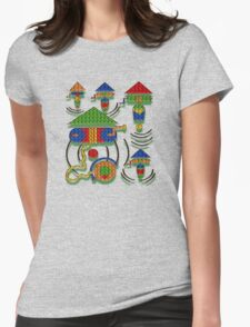 WISHING WELL Womens Fitted T-Shirt