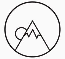 Simplistic Mountain by MinikinQP