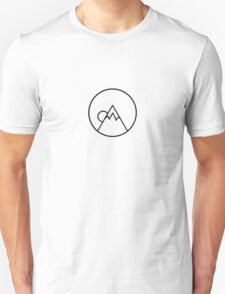 Simplistic Mountain Unisex T-Shirt