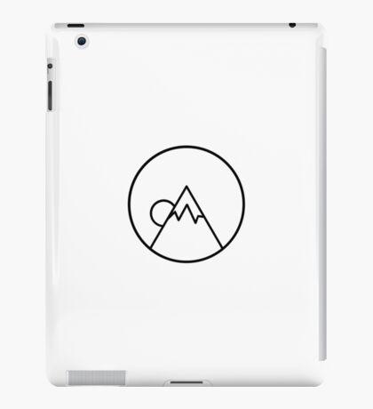Simplistic Mountain iPad Case/Skin