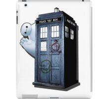 baymax tardis hallo iPad Case/Skin