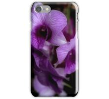 Haunted Halo Glow Orchids iPhone Case/Skin