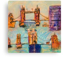London: Tower Canvas Print