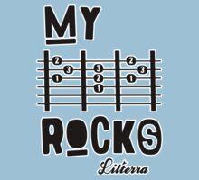 My -D-A-D- Rocks! By lilterra.com One Piece - Short Sleeve