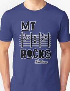 My -D-A-D- Rocks! By lilterra.com Unisex T-Shirt