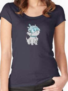 the dog - Rick And Morty Women's Fitted Scoop T-Shirt