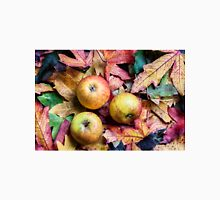 Apples and autumn leaves. Classic T-Shirt