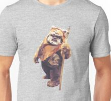 Jittery Little Thing - Low Poly Ewok Unisex T-Shirt