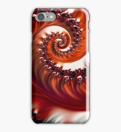 Crimson Passion - Heart of the Rose iPhone Case/Skin