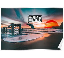 Swag Whale Poster