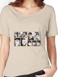Tribute to Audrey  Women's Relaxed Fit T-Shirt