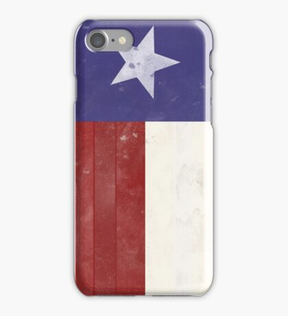 Distressed Texas Flag iPhone Case/Skin