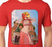 Moscow Apple Head Girl - Russia Unisex T-Shirt
