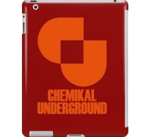Record Label 2 (orange) iPad Case/Skin