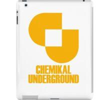 Record Label 2 (yellow) iPad Case/Skin