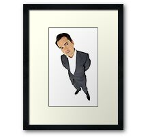 Jimmy Carr Framed Print