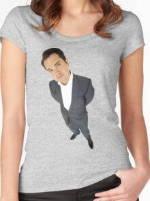 Jimmy Carr Women's Fitted Scoop T-Shirt