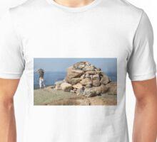 Cairn On Cadillac Mountain Unisex T-Shirt