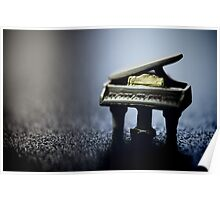 Music doesn't look at the size Poster