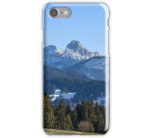 Tannheimer Berge iPhone Case/Skin