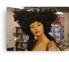 hair woman Canvas Print