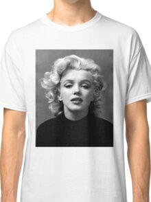 Vintage: Marilyn Monroe (Black&White) Classic T-Shirt