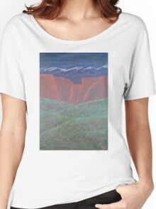 Red Rock Landscape Women's Relaxed Fit T-Shirt