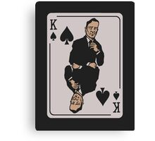 Frank Underwood - House Of Cards Canvas Print