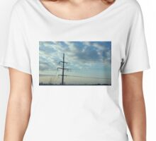 Montreal Skyline Women's Relaxed Fit T-Shirt