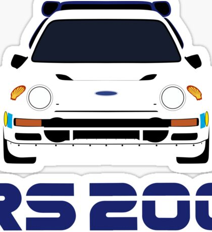 Ford RS200 Sticker