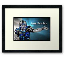 The Lukeness Monster Framed Print