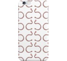 Pair of Earthworms iPhone Case/Skin