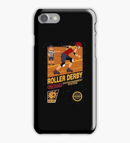 8-bit Roller Derby iPhone Case/Skin